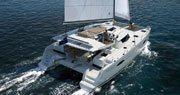 Tocht Luxe Catamaran Jacht Charter